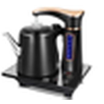 Electric fully automatic kettle teapot set 0.8l stainless steel safety auto-off water dispenser samovar pumping stove household