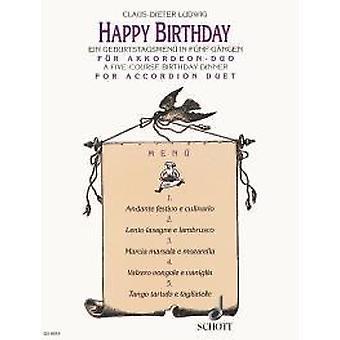Happy Birthday Ludwig, Claus-Dieter 2 accordions (M II / III)