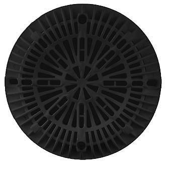 """Custom 25537-004-000 8 """"Galaxy couvercle et cadre plat - noir"""