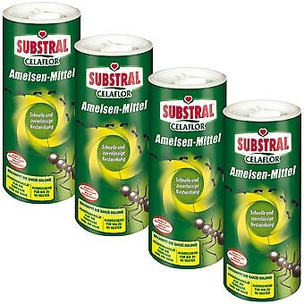 Sparset: 4 x SUBSTRAL® Celaflor® ants, 500 g