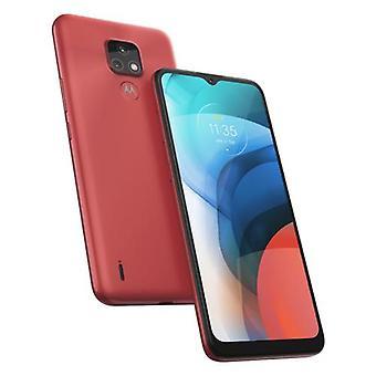 Motorola Moto E Moto e7, 16,5 cm (6,5»), 2 Go, 32 Go, 48 MP, Androïde 10.0, Rouge
