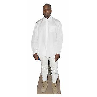 Kanye West White Shirt Style Lifesize Cardboard Cutout / Standee / Stand Up