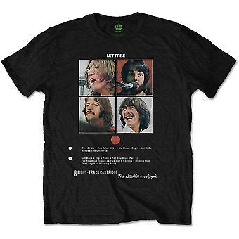 Beatles unisex tee: låt det vara 8 spår