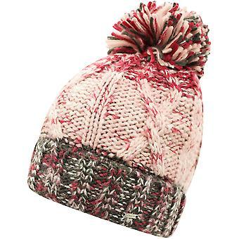 Dare 2b Femme Headmost Fleece Doublé Bobble Beanie Hat