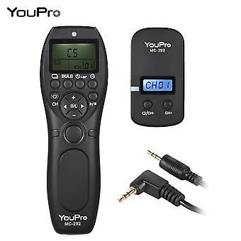 2.4g E3 Wireless Remote Control Lcd Timer Shutter Release Transmitter Receiver