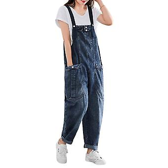 Loose Overalls Woman Demin Casual Pants