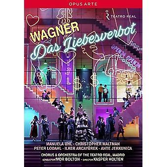 Wagner: Importer des USA Das Liebesverbot [DVD]