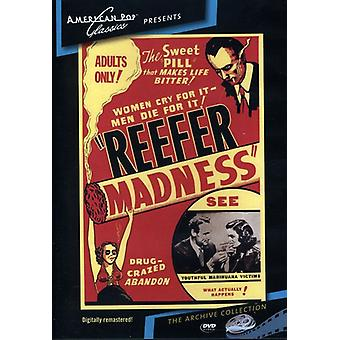 Reefer Madness (1936) [DVD] USA import