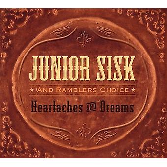 Junior Sisk & Ramblers Choice - Heartaches & Dreams [CD] USA import