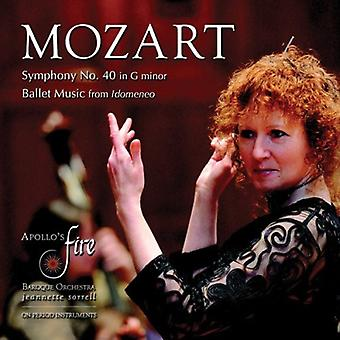 W.a. Mozart - Mozart: Symphony No. 40; Ballet Music From Idomeneo [CD] USA import