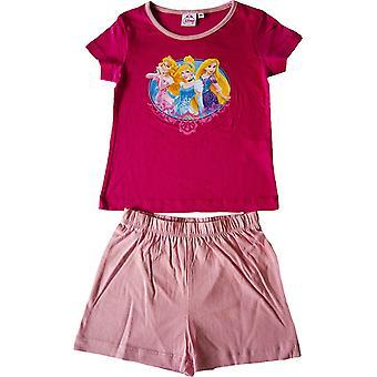 Piger Disney prinsesse kort Pyjamas sæt