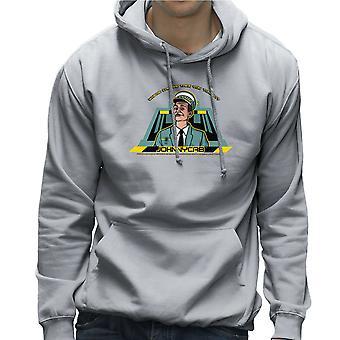 Johnny Cab Total Recall mannen Hooded Sweatshirt