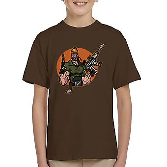 Smuggler Bro Jayne Firefly Kid's T-Shirt