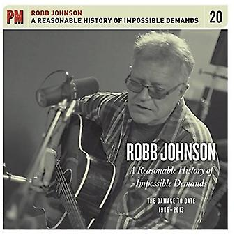 Robb Johnson - Reasonable History of Impossible Demands: Damage to Date 1986-2013 [CD] USA import