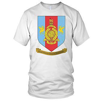 RMR Merseyside Royal Marine reserver Kids T skjorte