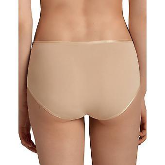 Anita 1318-753 femei ' s Comfort desert nud de bumbac completa pantalon hightalie scurt