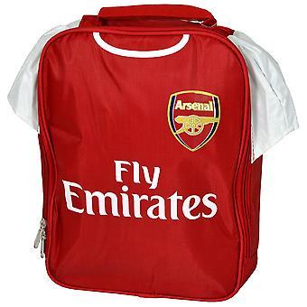 Arsenal FC Official Childrens/Kids Kit Design Lunch Bag