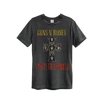 Amplified Guns N Roses Appetit an Zerstörung Herren T-Shirt