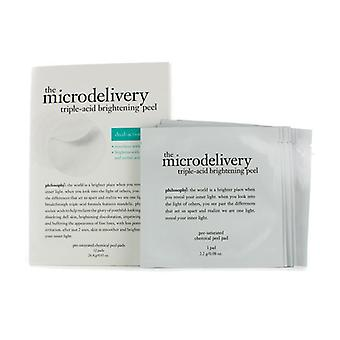 The Microdelivery Triple-acid Brightening Peel Pads - 12pads