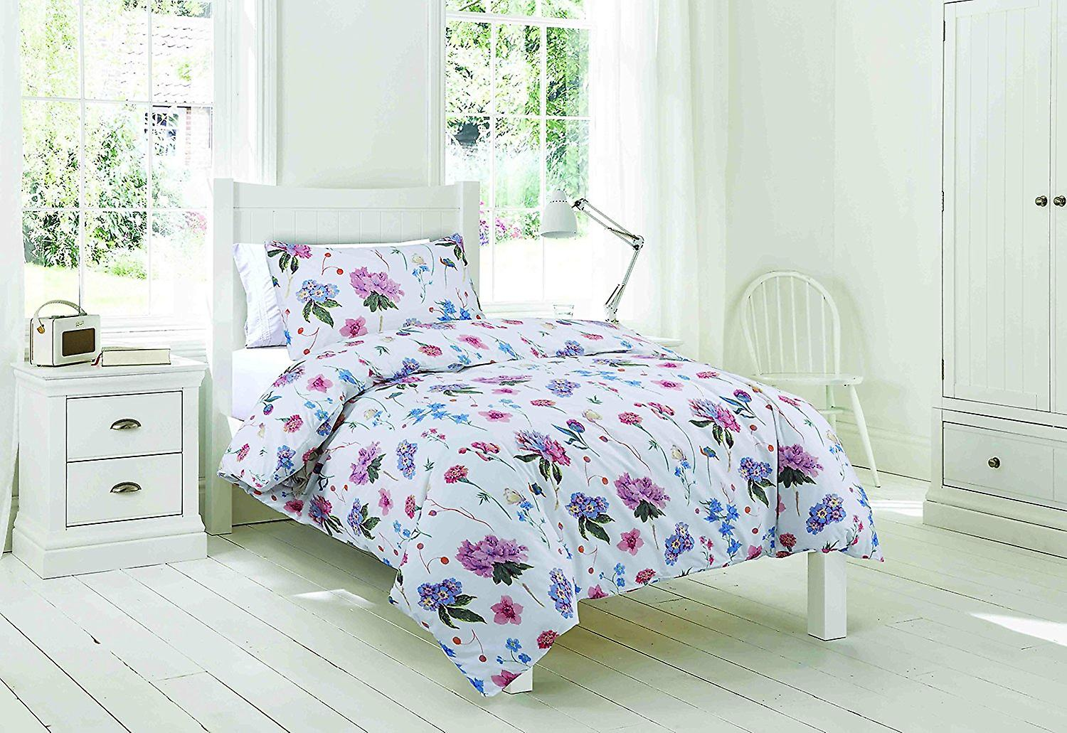 Easy-Fit Duvet Green Floral
