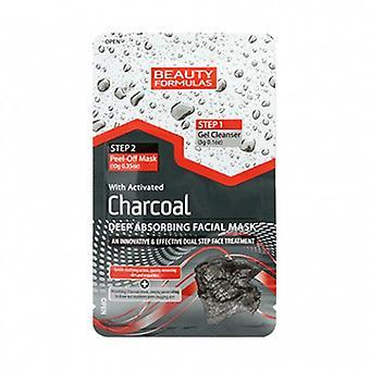Beauty Formulas Charcoal Deep Absorbing Facial Mask