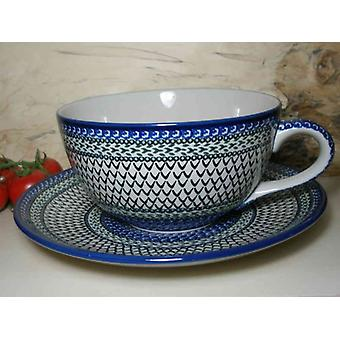 XXL single piece! Cup with saucer, 4 l vol., unique 5 - BSN 6429