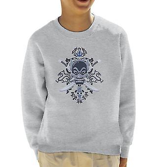 Avatar viime Airbender Blue henki lasten paita