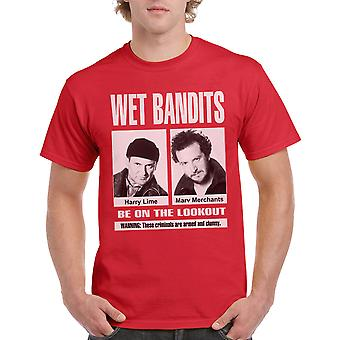 Page d'accueil seul Bandits humide rouge T-shirt homme