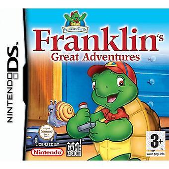 Franklins Great Adventures (Nintendo DS) - Fabrik versiegelt