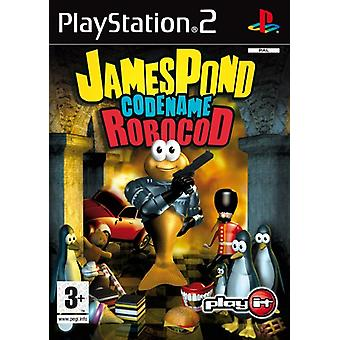 James pond Codename Robocod (PS2)-fabriek verzegeld