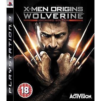 X-Men Origins Wolverine-Ucaged Edition (PS3)-ny