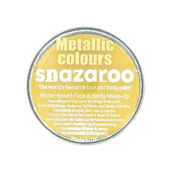 Base de Snazaroo cara y cuerpo pintura - oro metálico - agua 18ml