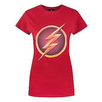 Flash TV Womens/dames Logo T-Shirt