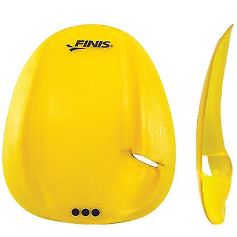 FINIS Strapless Agility Hand Paddles - Jaune