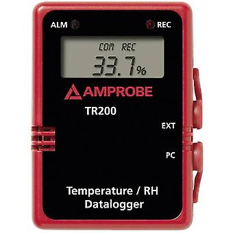 Beha Amprobe TR-200A وحدة مسجل البيانات متعددة القنوات لدرجة حرارة القياس والرطوبة -40 تصل إلى 85 درجة مئوية 0 حتى 100 RH