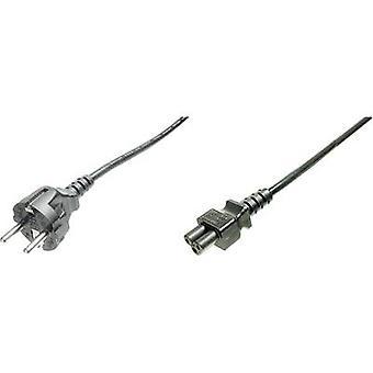 Digitus nuværende kabel [1 x PG plug - 1 x C5 Mickey Mouse stik] 0,75 m sort