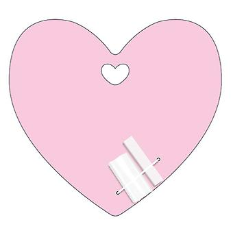 Pink Love Heart Chalk Board
