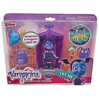 Vampirina Glowtastic amigos Playset