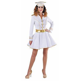 Vrouwen kostuums vrouwen Sexy Captain Lady