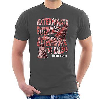 Doctor Who Warped Daleks Men's T-Shirt