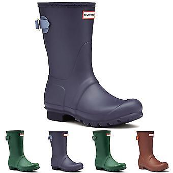 Womens Hunter Original Adjustable Back Short Winter Snow Rain Wellie Boot