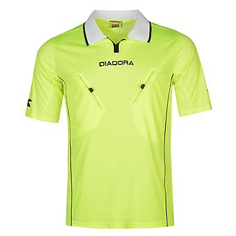 Diadora Mens Montreal Refree Shirt Baselayer Top Compression Armor Thermal Skins