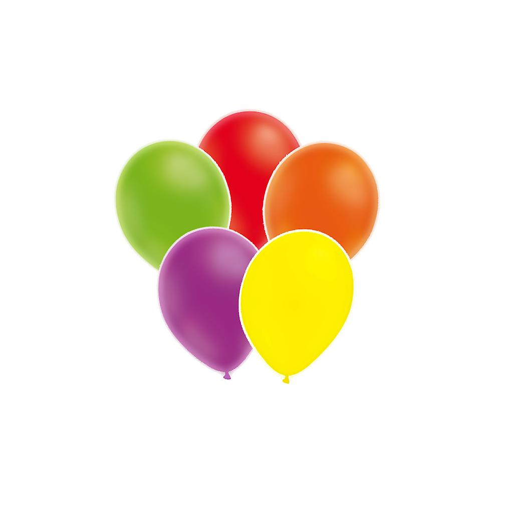 Ballonger neon blandade färger 25-pack.