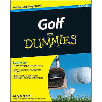 Golf For Dummies by Gary McCord - 9780470882795 Book