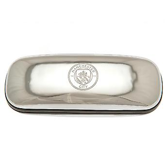 Manchester City FC Chrome Glasses Case