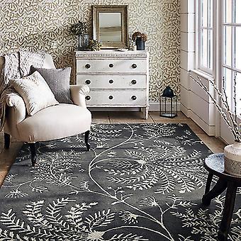 Mapperton Teppiche In Graphit-45905 von Sanderson