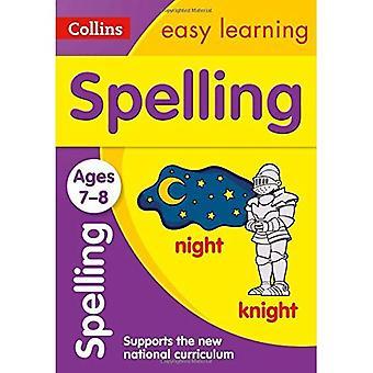 Stavning åldrar 7-8: ny upplaga (Collins lätt lärande KS2)