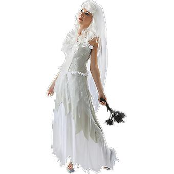 Orion Costumes Womens Ghostly Bride Wedding Dress Halloween Fancy Dress Costume