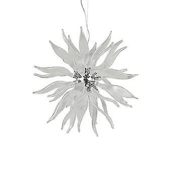 Ideal Lux - hojas blanco colgante grande IDL112268