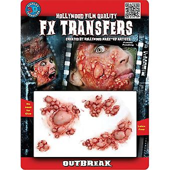 Outbreak 3D Prof Tattoo